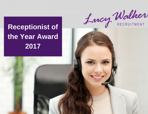 Meet Jennifer Brandwood…..The Receptionist of The Year 2017 !