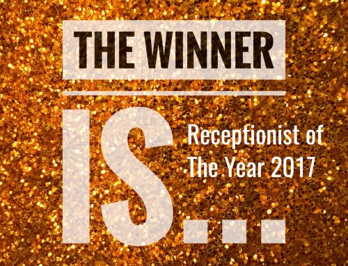 And the Winner of Receptionist of the Year 2017 is……….