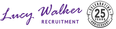 Lucy Walker Recruitment Retina Logo